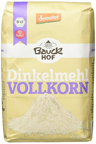 Bauckhof Dinkelmehl Vollkorn Demeter (1 x 1 kg)
