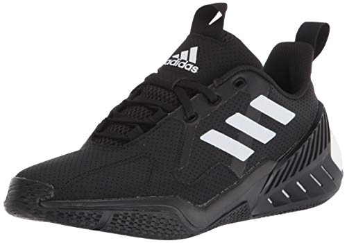 adidas 4Uture One Running Shoe, Black/White/White, 6.5 US Unisex Big Kid