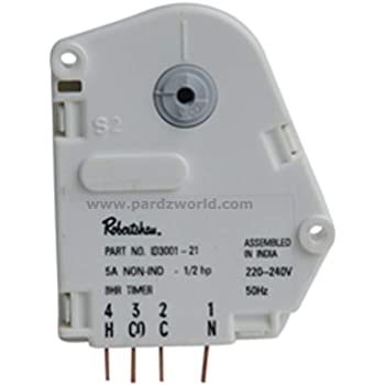 Buy Pardzworld Refrigerator Defrost Timer 08 Hours 07 Mins Suitable For Whirlpool Refrigerators Online At Low Prices In India Amazon In