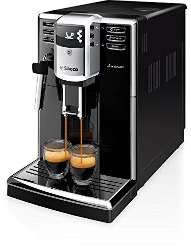 Saeco Incanto - Cafetera espresso súper automática, con espumador de...