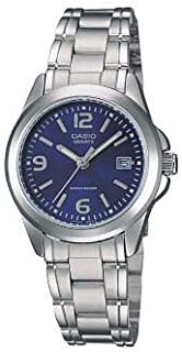 Casio Women's Stainless Steel Analog Watch