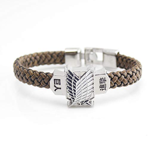 Multiculture Attack on Titan Pulsera Anime Manga Cosplay Survey Corps Scouting Legion
