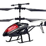 Pkfinrd Control Remoto Helicóptero RC Aircraft Toys Aleación de otoño Control Remoto Drone Color Incorporado Flashing Light Stable Operación de Juguetes eléctricos, Juguetes Modelo de aviación
