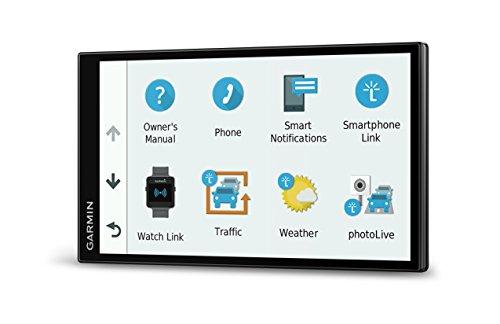 Garmin DriveSmart 61 NA LMT-S con mapas de por Vida/tráfico, estacionamiento en Vivo, Bluetooth, WiFi, notificaciones Inteligentes, activación por Voz, alertas de Conductor, TripAdvisor, Foursquare