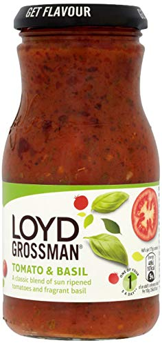 Loyd Grossman Tomato and Basil Sauce 350 g