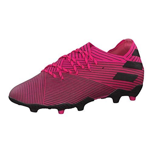 Adidas Nemeziz 19.1 FG J, Botas de fútbol para Niños, Multicolor (Rossho/Negbás/Rossho 000), 30 EU