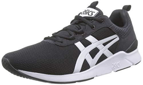 ASICS Unisex-Erwachsene Gel-Lyte Runner Laufschuhe, Mehrfarbig (Black/White 001), 40 EU