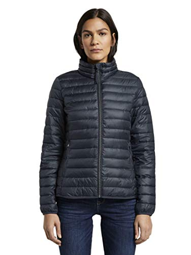 TOM TAILOR Damen Jacken & Jackets Leichte wattierte Steppjacke Sky Captain Blue,XXL