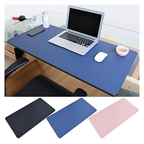 YONGYONGMY Alfombra de Escritorio 60 x 30 cm Tamaño Grande Antideslizante PVC Mouse Pad Juego Mousepad portátil computadora Mesa Mesa de Mesa cojín Estera for la Oficina en casa (Color : Blue 8)