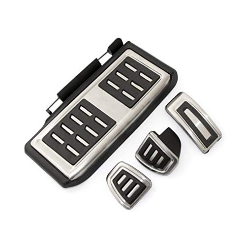BANGHA Pedal De Coche Car Styling Deporte Combustible Freno Muerto Cubierta del Pedal for DSG for Seat Leon 5F MK3 for Skoda Octavia A7 for VW Golf 7 Accesorios for automóviles Pedales De Freno