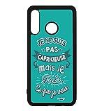 coque-personnalisable® Coque pour Huawei Y7 2019 / Y7 Prime 2019 ProseCafé® Coque Humour : Je ne...