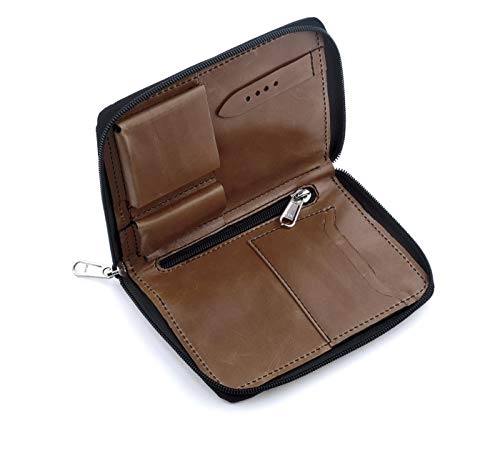 RIOS1931 Damen Uhrenarmband Julius Mod. 569 Echt Vintageleder Breite 13 mm Länge 170 mm Farbe Mokka