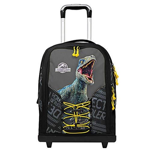 Jurassic World Zaino Trolley Scuola - Prodotto Ufficiale