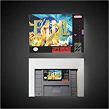 Game card E.V.O. Search for Eden - RPG Game Card Battery Save US Version Retail Box Game Cartridge SNES , Game Cartridge 16 Bit SNES