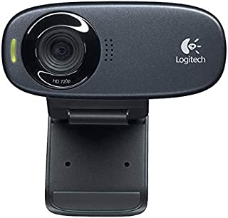 Logitech C310 HD Webcam - Black - 2724272472744
