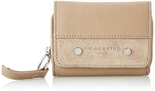 Liebeskind Berlin Damen Mix N`Match SLG-Pablita Wallet Medium Geldbörse, Beige (Taupe), 3x9x12 cm