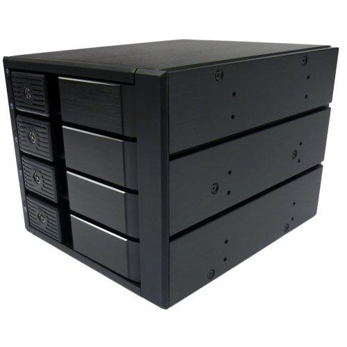ディラック Stack Gateシリーズ 3.5インチディスク対応トレーレスリムーバブルケース HotSwap対応 4Bayモデ...