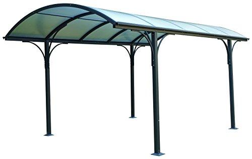 Eurobrico Tettoia carport per Esterno in Policarbonato e Alluminio - 485 x 300 cm