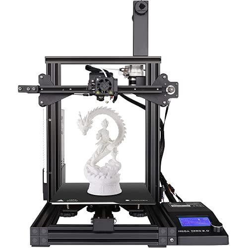 ANYCUBIC Impresora MEGA ZERO FDM 3D con un Tamaño de Impresion de 220 x 220 x 250mm 12V Doble Motor en Eje Y Potente Extrusor para PLA, ABS, TPU, MADERA, PETG