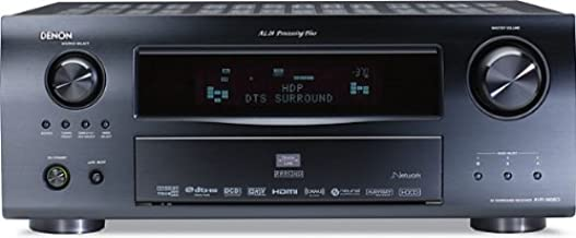 Denon AVR-3808CI 7.1-Channel Multizone Home Theater Receiver with Networking (Discontinued by Manufacturer)