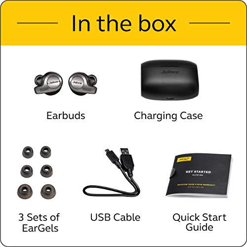 Jabra Elite Active 65t Alexa - Auriculares inalámbricos con funda de carga