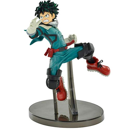 Action Figure My Hero Academia - The Amazing Heroes - Izuku Midoriya Bandai Banpresto Multicor