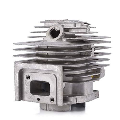 Juego de Cilindros 44 Mm Juego de Culatas Juego de Cilindros de Aleación de Aluminio Juego de Cilindros Juego de Pistones de Repuesto Para MITSUBISHI TL52 BG520 desbrozadora