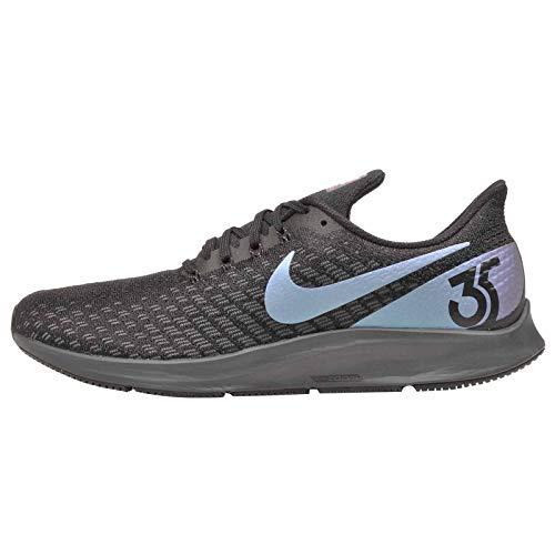Nike Men's Air Zoom Pegasus 35 Running Shoes, Black/Laser Fuchsia-Anthracite (US 11.5)