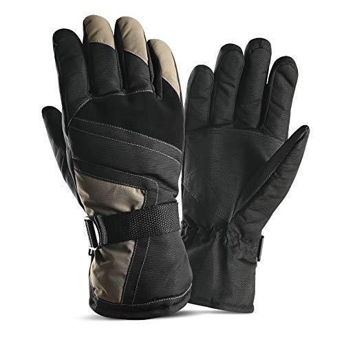 Thermal-handschoenen voor mannen vrouwen en heren skihandschoenen skihandschoenen winterhandschoenen verstelbare manchet voor motorfiets één circuitloop. doormaken snowboard outdoor sports fietsen lui
