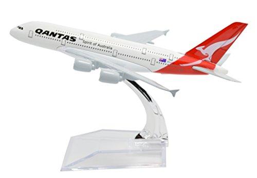 TANG DYNASTY(TM 1:400 16cm Air Bus A380 Qantas Metal Airplane Model Plane Toy Plane Model