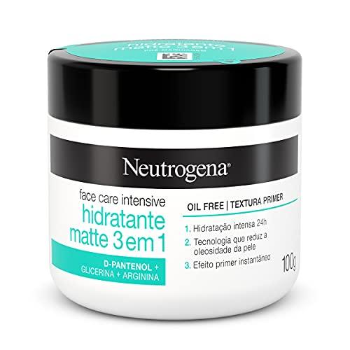 NEUTROGENA Face Care Intensive Hidratante Matte 3 em 1 100g, Neutrogena