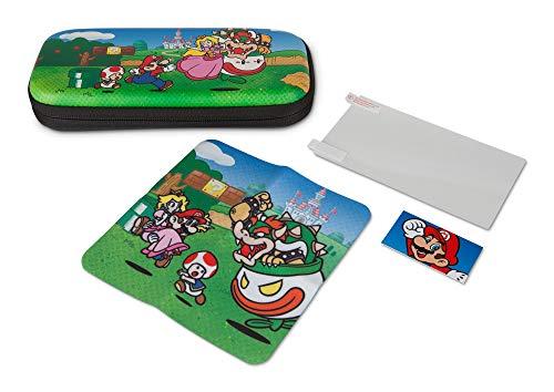 Boîtier discret pour Nintendo Switch Lite‑Royaume Champignon