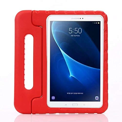 QiuKui Cases For Samsung Galaxy Tab A6 10.1, Kids Shockproof EVA Foam Case Cover Tablet Case For Samsung Galaxy Tab A 6 10.1 T580 T585 10.1' (Color : Red)