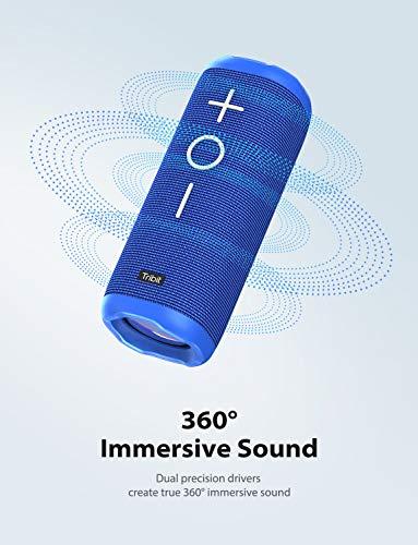 StormBox Bluetooth Speaker - 24W Portable Speaker, 360 Full Surround Sound, Enhanced Bass, Wireless Dual Pairing, IPX7 Waterproof, 20-Hour Playtime, 66ft Bluetooth Range Outdoor Speaker 6