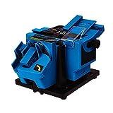 Afilador De Brocas Portátil, Mini Afilador De Cuchillos Eléctrico/Cincel/Hoja Plana/Máquina De Afilado De Taladro HSS Uso Para Cuchillos De Cocina Herramientas Eléctricas,Azul