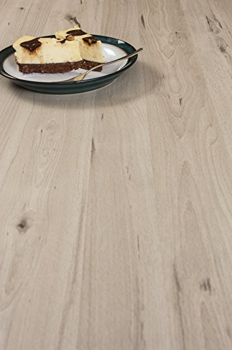 WORKTOPEXPRESS Helles Holz - Resopal Küchenarbeitsplatten (Rückwand 3m × 650mm × 13mm)
