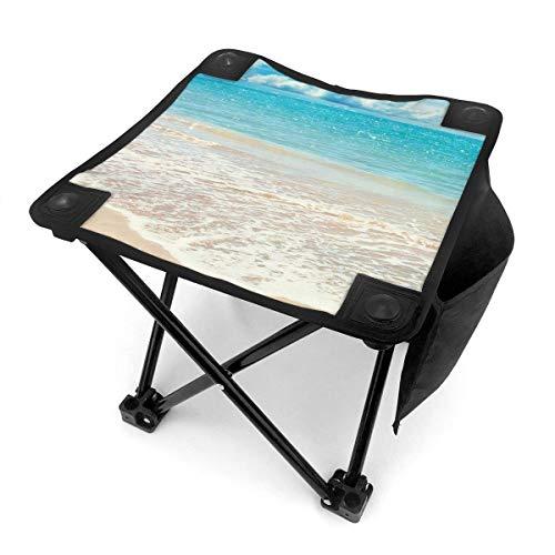 End Nazi Tabouret de Camping chaises Pliantes Summer Beach Blue Water Portable Chair Chair Seat