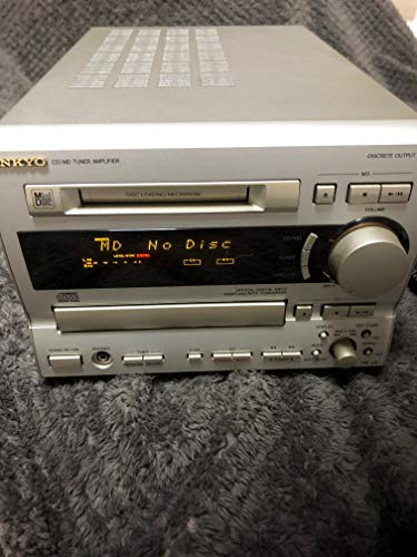 ONKYO オンキョー FR-V5 CD/MDチューナーアンプ (CD/MDコンポ) MDLP非対応 (センターアンプのみのスピーカーなし)