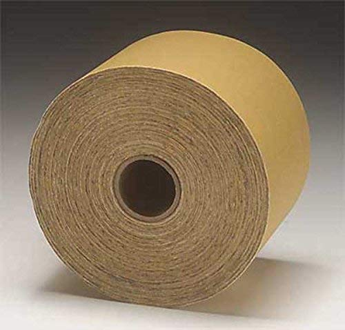 100 Grit 4-1//2 x 10 yds Length Silicon Carbide Gray Pack of 1 Paper 3M Stikit Vibrator Sander Roll 426U
