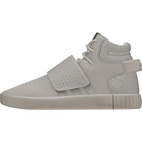 Adidas Originals Tubular Invader Strap Herren Sneakers Sportschuhe, schwarz, 38.5 EU