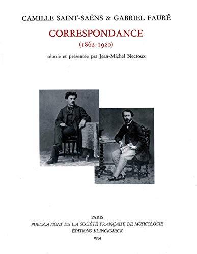 Correspondance (1862-1920) : Soixante ans d'amitié, édition Jean-Michel Nectoux