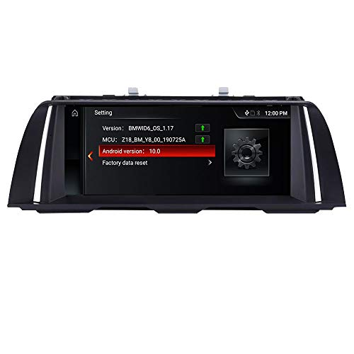 MTEC Android10 (USB CarPlay) Stereo per BMW Serie 5 F10/F11(2010-2012) Sistema CIC Quad Core 2GB RAM 32GB ROM con iDrive System Retained 10.3' touchscreen