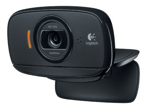 Logitech HD Webcam C525, tragbare HD 720p Videoanrufe mit Autofokus KundenVerpackung: Standardverpackung, Modell: 960-000715, Gadget & Electronics Store