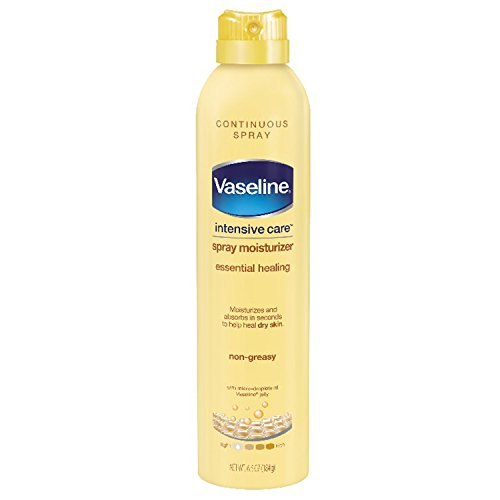 Vaseline Intensive Care Spray Lotion, Essential Healing, 6.5 oz