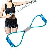 chunnron Goma Elastica Fitness Gomas Elasticas Musculacion Ejercicio Banda Equipo de Ejercicio para el hogar Entrenamiento Bandas Blue,42cm
