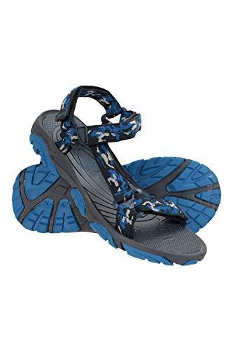 Mountain Warehouse Tide Sandalen für Kinder - Neoprenfutter, Laufsohle aus 100% Gummi, Flipflops mit Klettverschluss - Für Sommerspaziergänge Kobalt 36