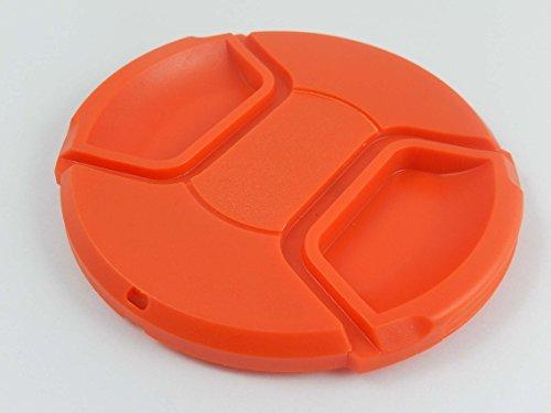 vhbw Tapa para Objetivo Compatible con Tamron, SP 24-70mm F2.8 Di VC USD cámara - plástico, Rojo, 82mm