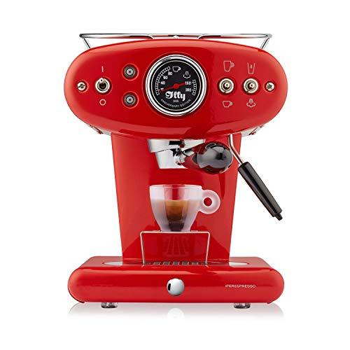 illy X1 Kaffeemaschine für Iperespresso Kapseln, Rot, Anniversary