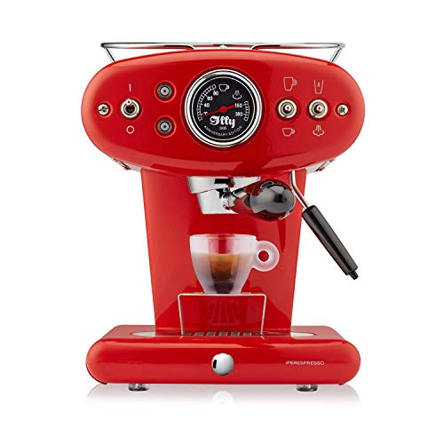 illy Kaffee, Kaffemaschine für Iperespresso Kapseln X1 Anniversary, Rot