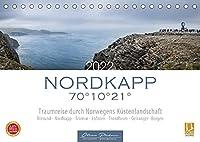 Nordkapp - Norwegens Kuestenlandschaft (Tischkalender 2022 DIN A5 quer): 12 eindrucksvolle Motive von Norwegens Kuestenstaedte und Landschaften. (Monatskalender, 14 Seiten )